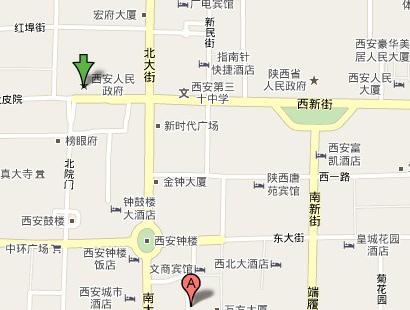 西安南大街百货市场(图二)