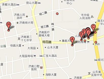 济南市人民商场小商品市场