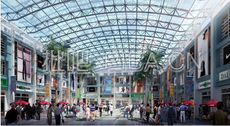 玉林福绵国际服装贸易城